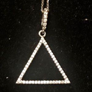 Fine Sterling Crystal Necklace